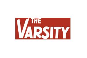 The Varsity logo