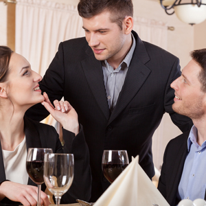 Be a great restaurant manager